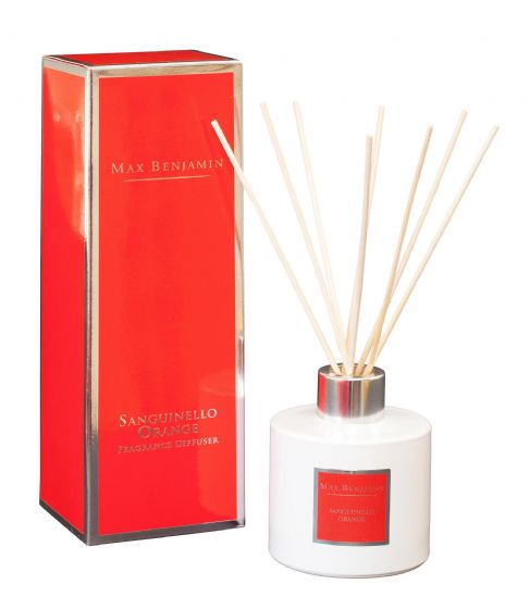 Sanguinello Orange Diffuser By Max Benjamin
